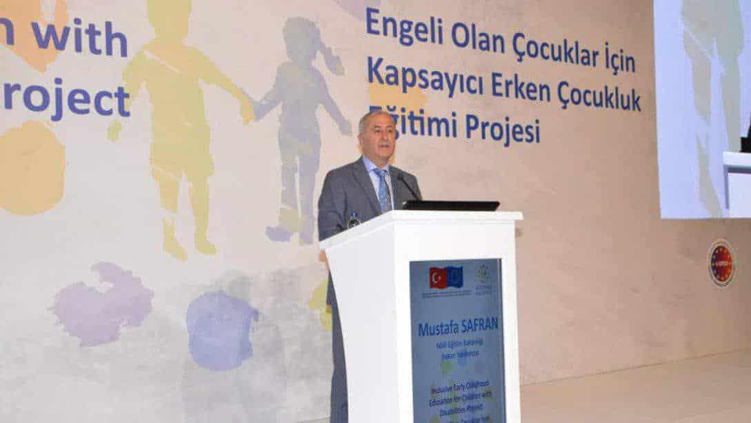 Engeli Olan Çocuklar İçin Kapsayıcı Erken Çocukluk Eğitimi Projesi, Yönetici Bilgilendirme Toplantısı İstanbul'da Gerçekleştirildi.